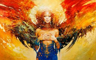 Awakening Woman