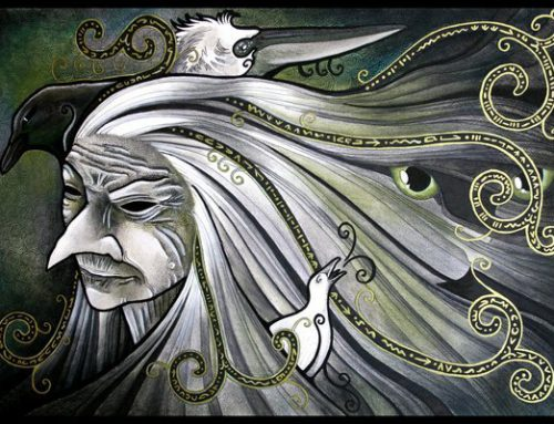 Sacred Trinity of Woman – Shadow of the Crone